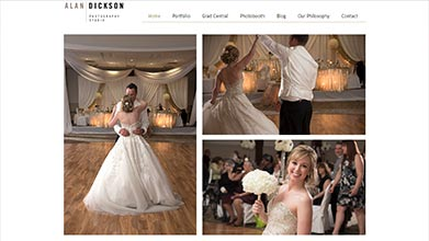 Alan Dickson Thunder Bay Photography Web Design